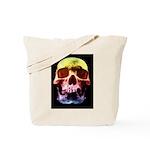 Pop Art Skull Face Tote Bag