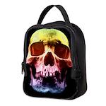 Pop Art Skull Face Neoprene Lunch Bag