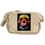 Pop Art Skull Face Messenger Bag