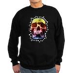 Pop Art Skull Face Sweatshirt