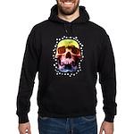 Pop Art Skull Face Hoodie