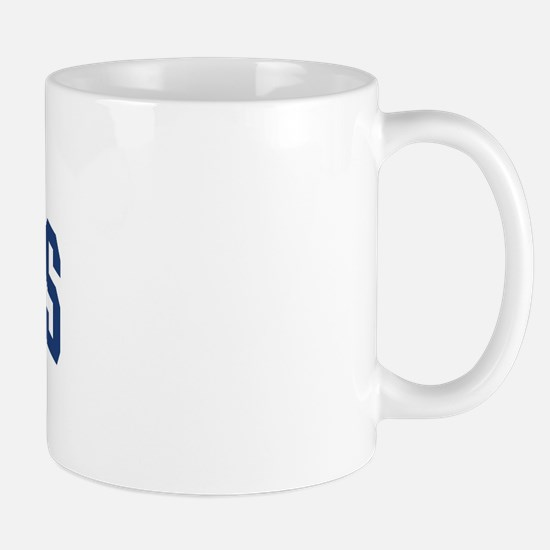 HOPKINS design (blue) Mug