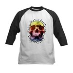 Pop Art Skull Face Baseball Jersey