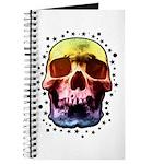 Pop Art Skull Face Journal