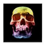 Pop Art Skull Face Tile Coaster