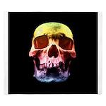 Pop Art Skull Face King Duvet