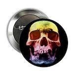 Pop Art Skull Face 2.25