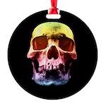 Pop Art Skull Face Ornament