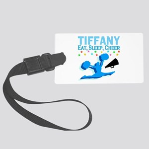 PERSONALIZED CHEER Large Luggage Tag