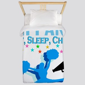 PERSONALIZED CHEER Twin Duvet
