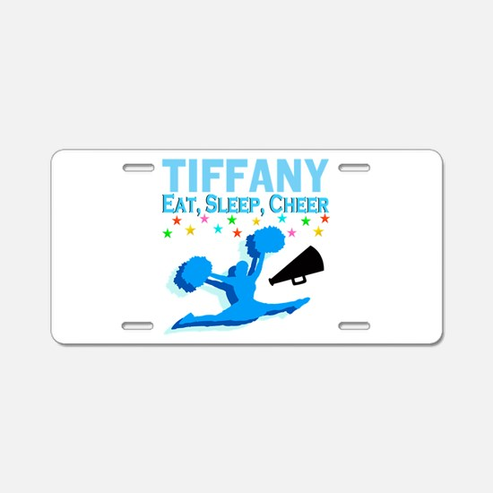 PERSONALIZED CHEER Aluminum License Plate