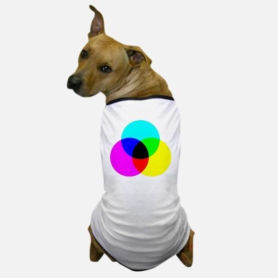 Funny Colour Dog T-Shirt