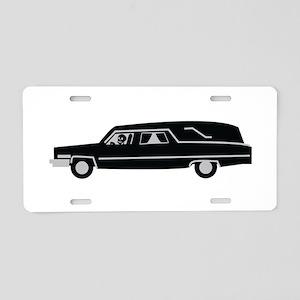 Hearse Aluminum License Plate