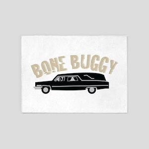 Bone Buggy 5'x7'Area Rug