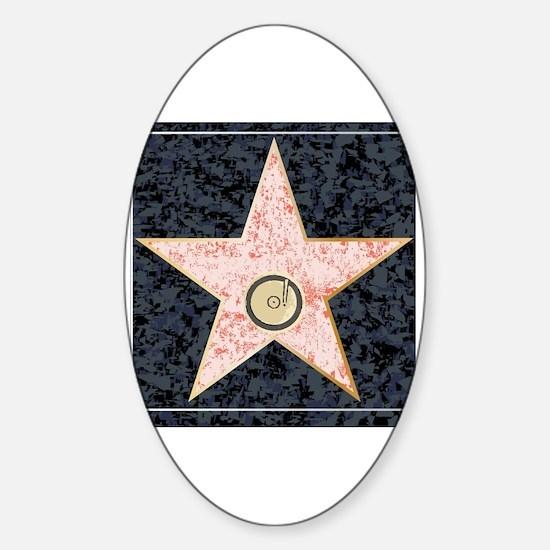 Cute Fame Sticker (Oval)