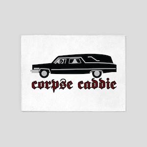 Corpse Caddie 5'x7'Area Rug