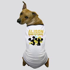 PERSONALIZED CHEER Dog T-Shirt