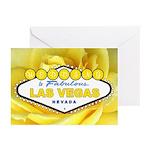 Wedding in Las Vegas Yellow Rose Cards 10