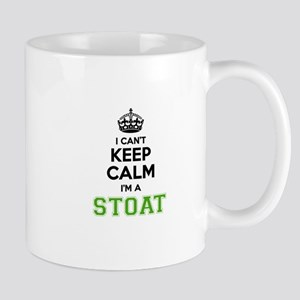 Stoat I cant keeep calm Mugs