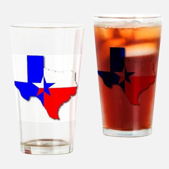 Cute Texas star emblem Drinking Glass