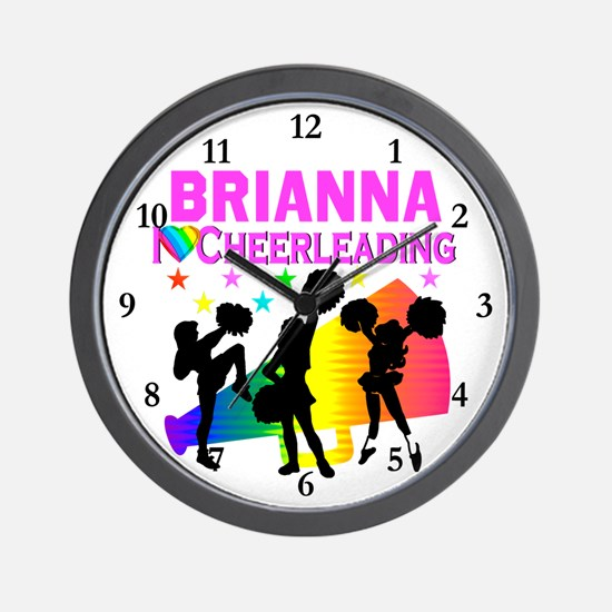 PERSONALIZED CHEER Wall Clock