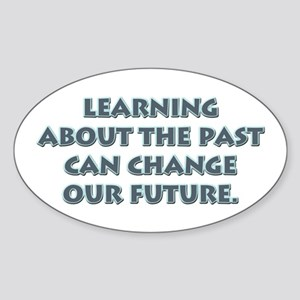 History Teacher Oval Sticker