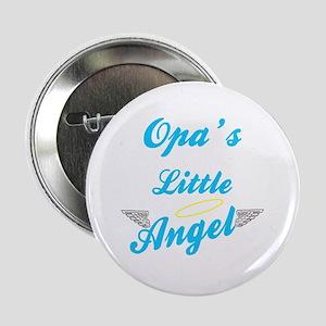 """Opa's Little Angel (Boy) 2.25"""" Button"""