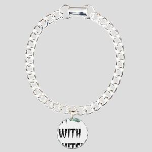 Im with witch Charm Bracelet, One Charm