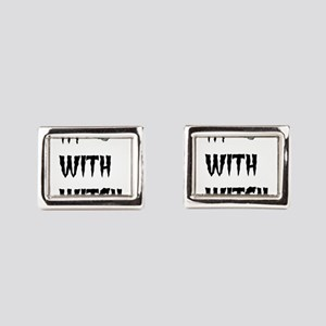 Im with witch Rectangular Cufflinks