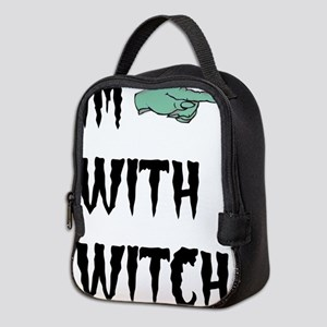 Im with witch Neoprene Lunch Bag
