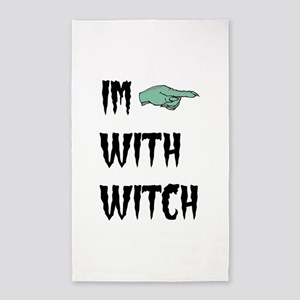 Im with witch Area Rug