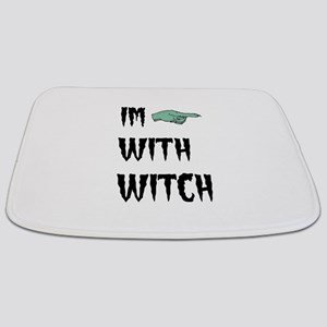 Im with witch Bathmat