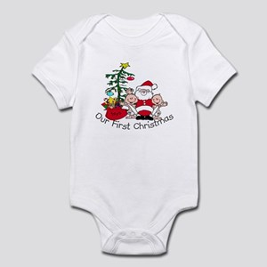 Our First Christmas Santa/TWI Infant Bodysuit
