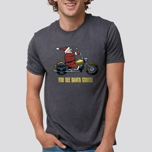 You See Santa Cruise Women's Dark T-Shirt
