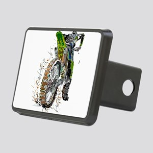 Motorcross Rectangular Hitch Cover