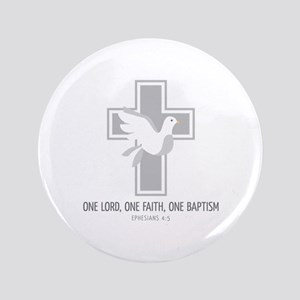 One Baptism Button