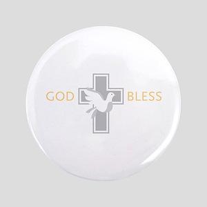 God Bless Button