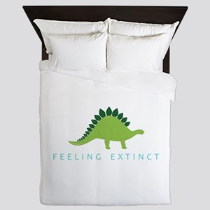 Feeling Extinct Queen Duvet