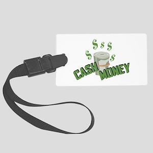 Cash Money Luggage Tag