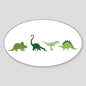 Dino Border Sticker
