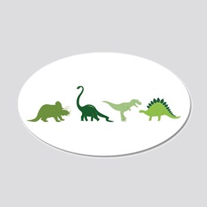 Dino Border Wall Decal