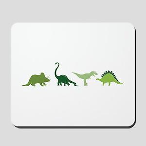 Dino Border Mousepad