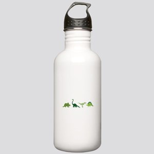 Dino Border Water Bottle