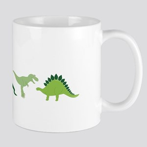 Dino Border Mugs