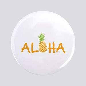 Aloha Pineapple Button