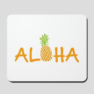 Aloha Pineapple Mousepad
