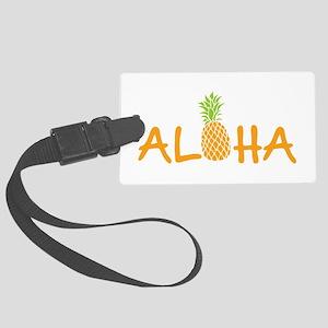 Aloha Pineapple Luggage Tag