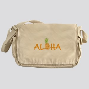 Aloha Pineapple Messenger Bag