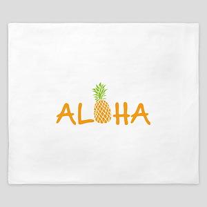 Aloha Pineapple King Duvet