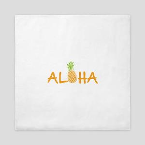 Aloha Pineapple Queen Duvet